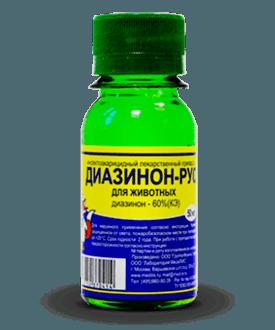 Диазинон - сильное противопаразитарное средство