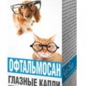 """Капли для глаз кошек и собак """"Офтальмосан"""""""